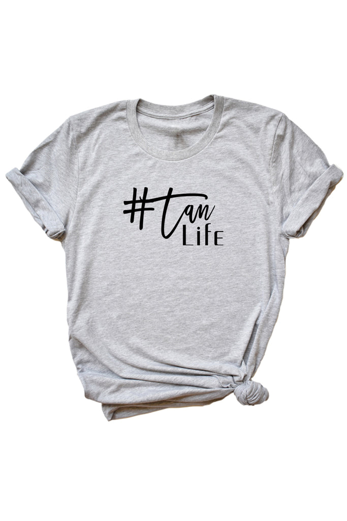 Women's Grey Tan Life Shirt