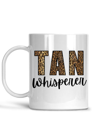 White Tan Whisperer Mug
