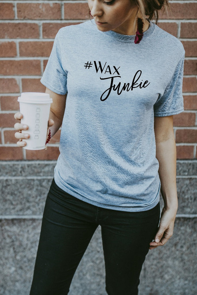 Women's Grey Wax Junkie Shirt