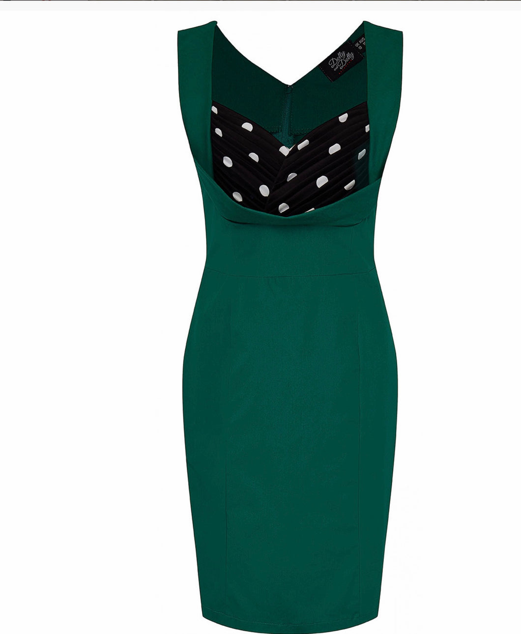 Ruffle wiggle dress - Isabel's Retro & Vintage Clothing