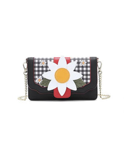 Daisy Garden Bee Crossbody Clutch Bag - Isabel's Retro & Vintage Clothing