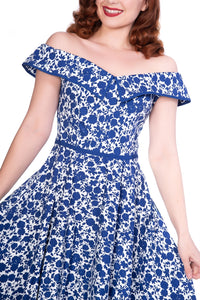 Bardot dress - Isabel's Retro & Vintage Clothing