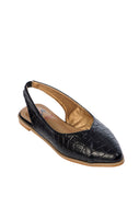 Pointed sling backs - Black - Isabel's Retro & Vintage Clothing