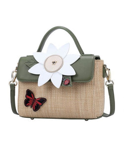 Daisy Garden Top Handle Bag - Isabel's Retro & Vintage Clothing