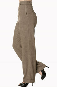 Tweed Trousers - Isabel's Retro & Vintage Clothing