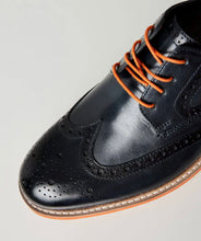 Load image into Gallery viewer, River Oaks leather brogues - Isabel's Retro & Vintage Clothing