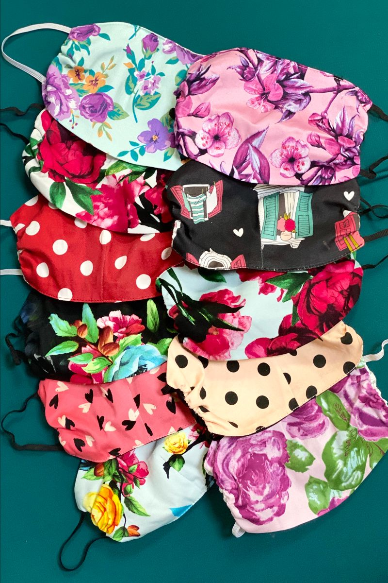 Face covers - Isabel's Retro & Vintage Clothing
