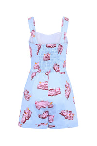 Vintage Pink Car Playsuit - Isabel's Retro & Vintage Clothing