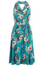 Load image into Gallery viewer, Hawaiian Lindy Dress - Isabel's Retro & Vintage Clothing
