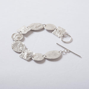 Recycled Silver Shapes Bracelet