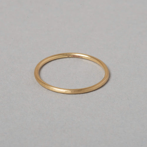 Skinny Fairtrade Yellow Gold Ring