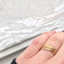 Load image into Gallery viewer, Skinny Fairtrade Yellow Gold Ring