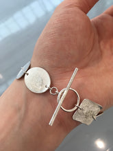 Load image into Gallery viewer, Recycled Silver Shapes Bracelet