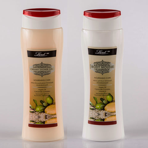 Nourishing Argan Oil Body Care combo (Shower Gel & Lotion )