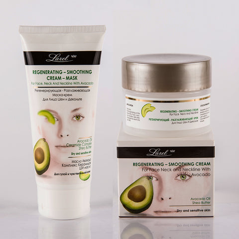 Avocado Facial Combo (Cream & Mask)