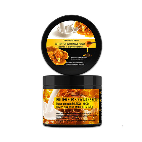 Body butter MILK AND HONEY