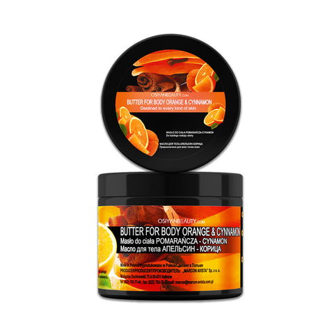Body Butter ORANGE AND CINNAMON