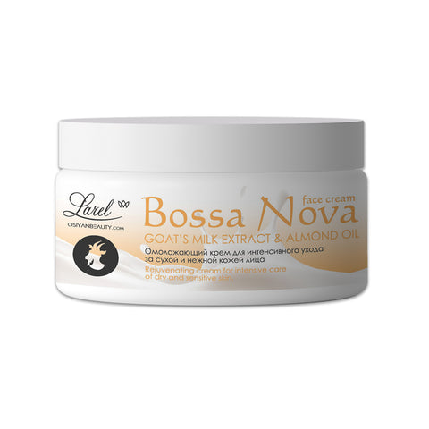 BOSSA NOVA Face Cream Goat's Milk Extract & Almond Oil