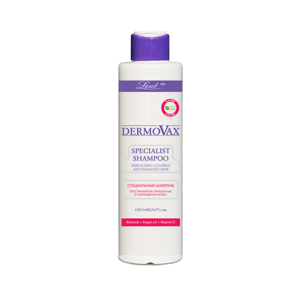 Dermovax Specialist Shampoo Rebuilding Colored And Damaged Hair