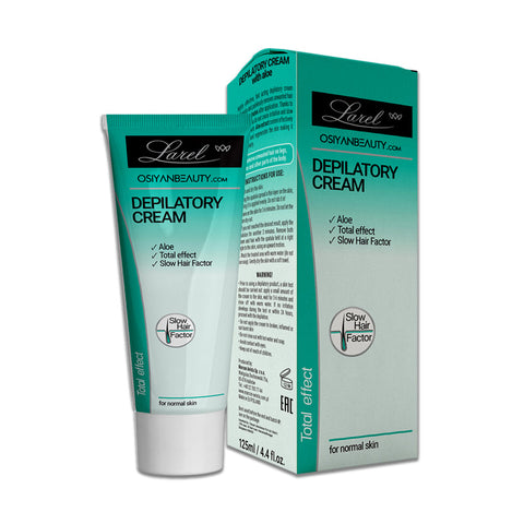 Depilatory Cream Aloe, Total Effect And Slow Hair Factor