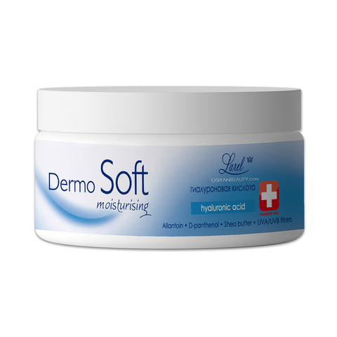 DERMOSOFT Face Cream With Moisturizing Hyaluronic Acid