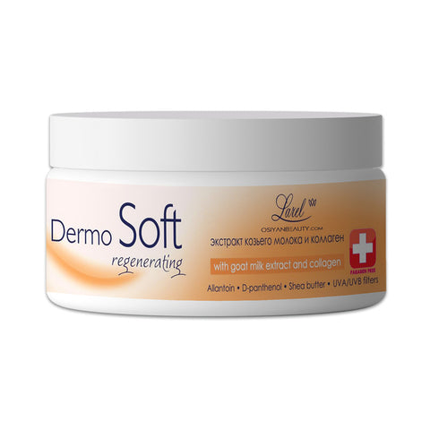 DERMOSOFT Face Cream Regenerating With Goat Milk Extract Collagen