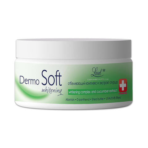 Larel DERMOSOFT Face Cream Whitening & Cucumber Extract
