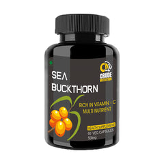 Sea Buckthorn Rich in Vitamin C Multinutrient 500Mg - Vegan Capsules