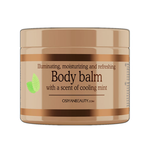 Moisturizing Body Balm With A Scent Of Cooling Mint