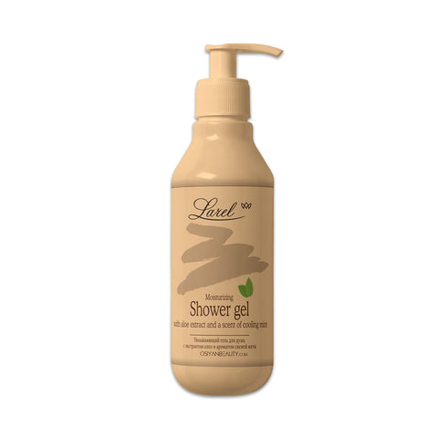 Moisturizing Shower Gel With Aloe Extract & A Scent Of Cooling Mint