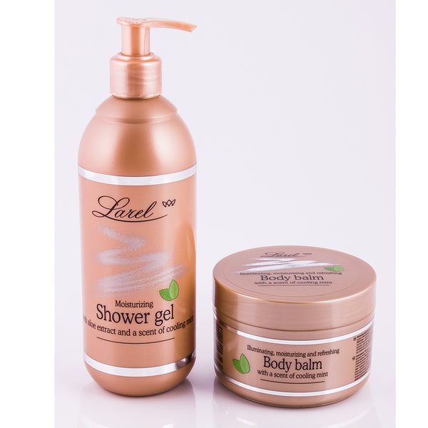 Illuminating Moisturizing & Refreshing Body Combo ( Shower Gel & Balm)