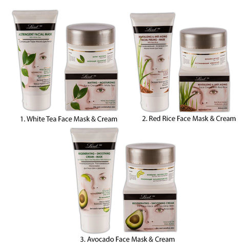 Larel Facial Mask & Face Cream Combo (Cream & Mask)