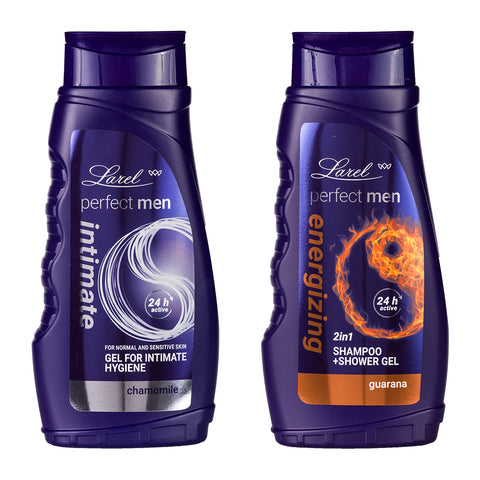 Perfect Men Energizing Shower Gel  & Intimate Hygiene wash Combo (Guarana Shower Gel & Intimate Hygiene)