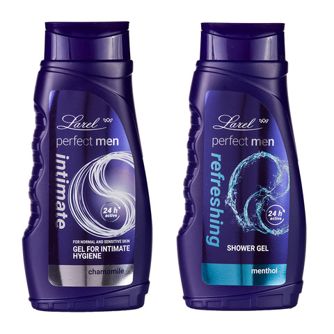 Perfect Men Refreshing Shower gel &  Intimate hygiene wash Combo (Menthol Shower Gel & Intimate Hygiene)