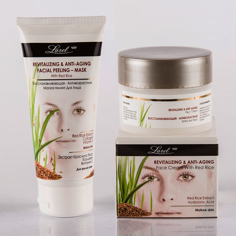 Red Rice Facial Combo (Cream & Mask)