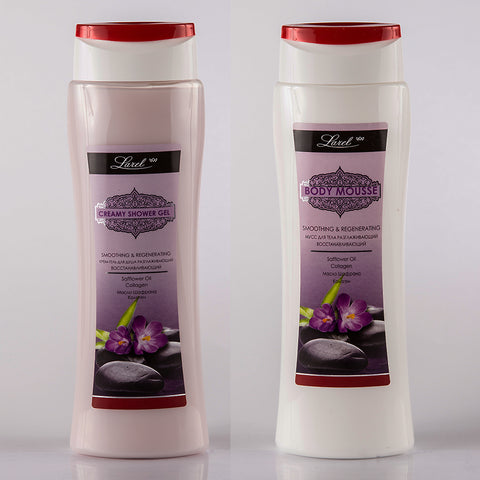 Smoothing Safflower Oil Body Care combo (Shower Gel & Lotion )