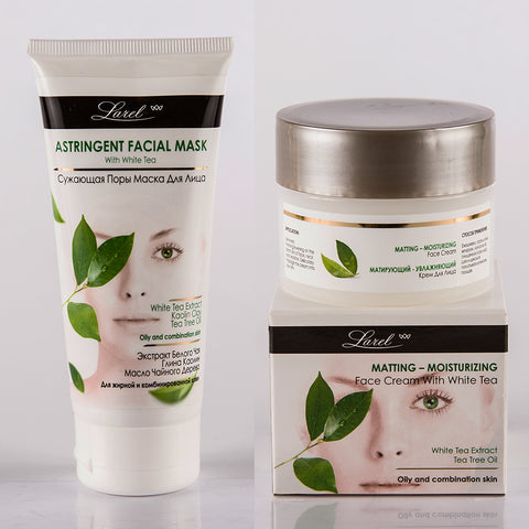 White Tea Facial combo (Cream & Mask)