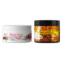 Face Cream & Body Butter Combo ( Pomegranate & Milk and Honey)