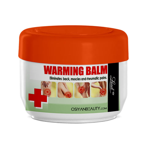 Warming And Soothing Balm With Natural Extract