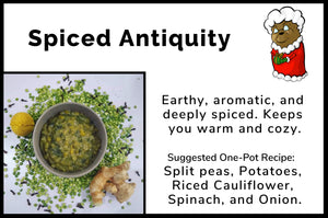 Spiced Antiquity - Split Pea Seasoning Mix