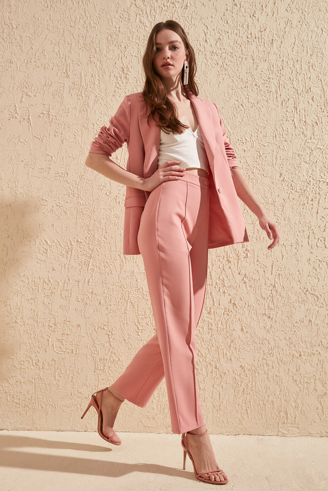 Basic Trousers - Pink