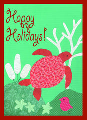 Happy Holiday Turtle