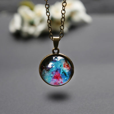 Pendant Necklaces Universe In A Necklace