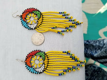 Load image into Gallery viewer, Handmade Fashion Jewelry Multicolor Beaded Beadwork Earrings **SALE**REDUCED