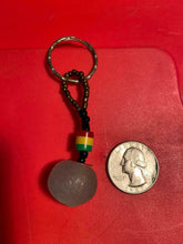 Load image into Gallery viewer, Beautiful Leather & Stone Key Chains/key Holder