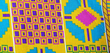 Load image into Gallery viewer, Kente Print Fancy100% Cotton Fabric ~2 YARDS × 23""