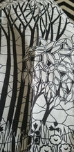 Load image into Gallery viewer, Black  And White AFRICAN PRINT 5 yards ~2 yards ~ $10