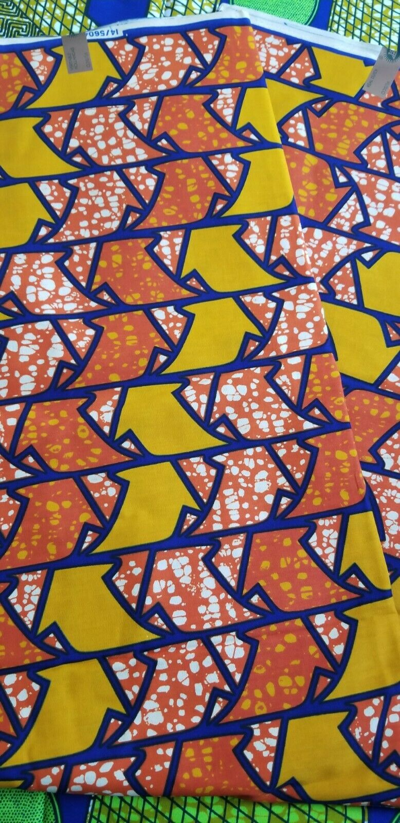 Jungle Fever Multi African fabric 100% Cotton 2 yards $10