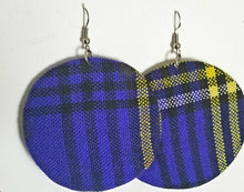 Load image into Gallery viewer, African Earrings Fabric Handmade with Tribal Ankara/waxprint 2pairs $8