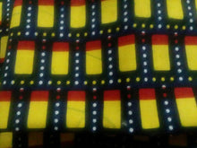 "Load image into Gallery viewer, Yellow Cube Designs Multi African Print 37""×16""~$5"